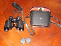 BOOTS Admiral 8 x 30 Coated Optics Japanese Binoculars With Carrying Case
