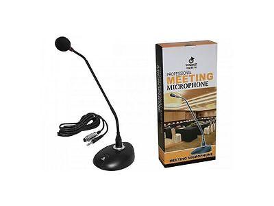 BESPECO GM4018 Microfono Professionale a condensatore da Tavolo per Conferenza