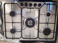 5 burner gas hob in excelent condition