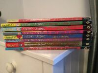 8 x Jeremy Strong Kids Books - includes My Brother's Famous Bottom