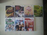 Nintendo Wii Games x 7