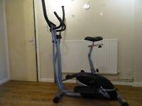 Excecise bike and elliptical 2 in 1