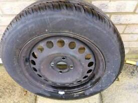 1 x Steel Wheel for Vauxhall Astra G