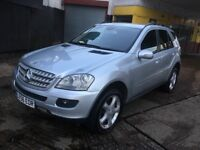2006 MERCEDES ML320 CDI DIESEL AUTO 2 OWNERS 131 000 MILES HPI CLEAR