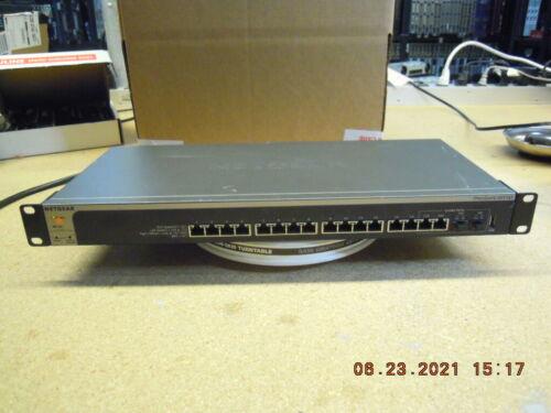 NetGear ProSafe XS716T 16-Ports 10-Gigabit Smart Managed Switch * Read 1St