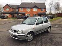 **1999 V REG NISSAN MICRA GX AUTOMATIC 1.3 5DR LONG MOT 2X KEYS 100% BRILLIANT RUNNER BARGAIN**