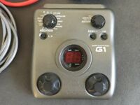 Zoom G1 Guitar Multi FX Effects Unit with PSU and guitar leads