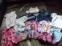 BUNDLE OF GIRLS CLOTHES AGES 2- 4 YEARS INCLUDING NEXT, MOTHERCARE, GEORGE GOOD CONDITION
