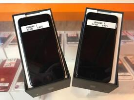iPhone 7's, 32gb, matte black, unlocked