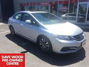 2013 Honda Civic EX-sunroof, 2 sets of tires