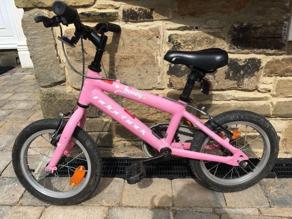 Girls Ridgeback Honey Bike 14 Inch Wheels In Boston Spa West