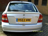 VAUXHALL ASTRA 1.6 AUTOMATIC,LOW MILEAGE,LONG MOT,2 OWNER,SERVICE HISTORY,CLEAN CAR,£775 ONO CHEAP