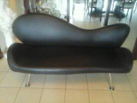 Brown hairdressing beauty couch