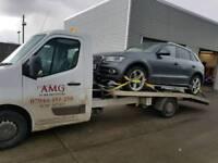 Motorways Car Breakdown Recovery Luton Toddington Dunstable M1 M24 A5 A505 Mr T Rescue 24/7
