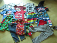 SELECTION OF BABY BOYS CLOTHES (17 ITEMS)
