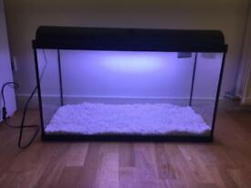 140L fish tank for sale and accessories