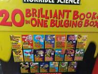 Childs horrible science book box set