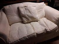2 seater loose cover sofa