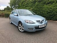 2007 MAZDA 3 SPORT 2.0 DIESEL LOW MILEAGE FULL SERVICE HISTORY FACTORY EXTRAS ALLOYS BOSE etc 6 323
