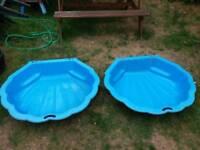 Sand pit /paddling pool