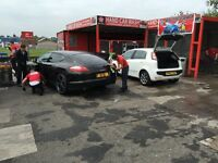 Car wash & valet Leigh Lancs, great location