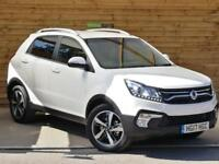 SsangYong Korando 2.2 ELX 4x4 Auto 5dr LATEST 2017 MODEL - EX DEMO (grand white) 2017