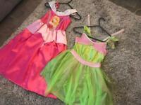 5-6 dress up, Sleeping Beauty and Tinkerbell