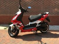 Speedfight 3 125 scooter moped only 2300 miles, still under warranty