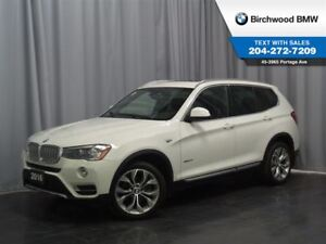 2016 BMW X3 Xdrive35i Technology Package & Premium Package Enh