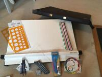 A2 Drawing Board and Drawing Equipment