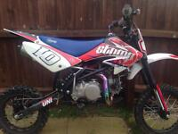 Stomp z2 140cc pit bike limited edition