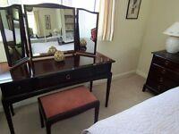 Stag Minstrel Mahogany Bedroom Suite - 8 Pieces