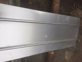Aluminium Diffuser Plates for 16mm PEX underfloor heating pipes