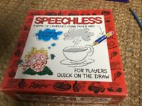 SPEECHLESS Family Board Game by B.V Leisure