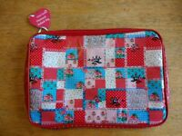 NEW Sass & Belle Patchwork Netbook Bag, iPad Cover