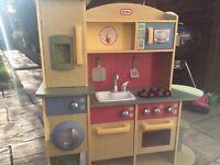 Little tikes wooden kitchen