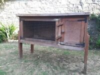 Guinea pig hutch, weather-proof hutch cover, outdoor run and small pet carrier