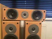 Gale Speaker System incl. 3080 subwoofer, 3050 centre and 2x 3040 floor speakers