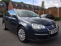 2010 Volkswagen Golf 1.9 TDI BlueMotion Tech 5dr(Estate) with one keeper and full service history