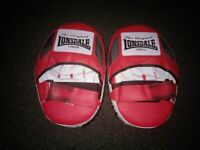 Lonsdale pro hook and jab pads for mma or boxing