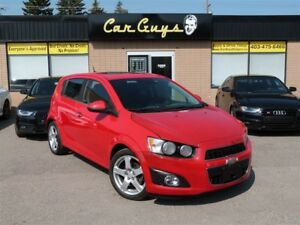 2014 Chevrolet Sonic LT - Turbo, Cam, Roof, Collision & Lane Ass