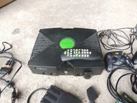 Xbox Original with extras
