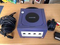 Nintendo Gamecube - Purple - Rare - Great Condition!