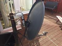 Spiderbox hd7000 with motorised dish
