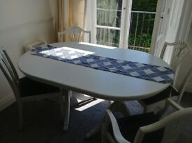 Dining set - Dining table with 4 chairs