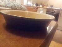 22cm Le Creuset ceramic dish