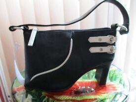 Black and White novelty handbag