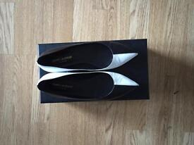 Saint Laurent Pointed Flats