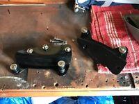 Harley Davidson sissybar and rack