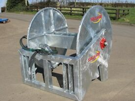 Tractor mounted Slurry reeler, umbilical system (Sullivans Engineering)